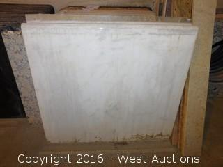 "(1) 27-1/4""x26"" Granite Vanity Sink Countertop"
