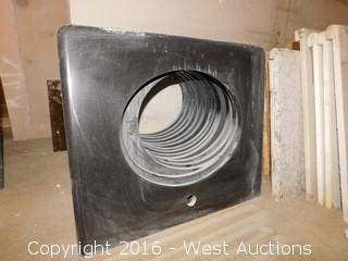 "(1) 27""x22.5"" Granite Vanity Sink Countertop"