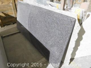 "(1) 78"" x 3' Pre-Fabricated Countertop"