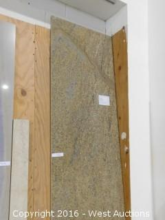 "(1) 8"" x 26"" Tropical Delicatus Granite Slab"