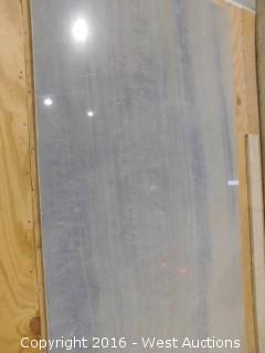 """(1) 41"""" x 7' 4"""" Granite Slab"""