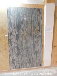 """(1) 7' 4"""" x 4' Granite Slab"""