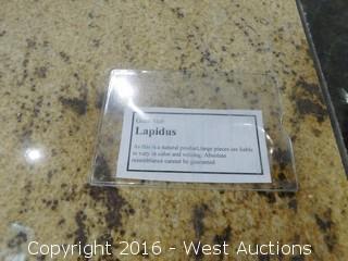 """(1) 26"""" x 8' Lapidus Granite Slab"""