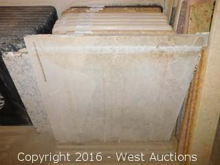 "(1) 28""x26"" Granite Vanity Sink Countertop"