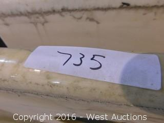 "(1) 31.5""x22.5"" Granite Vanity Sink Countertop"