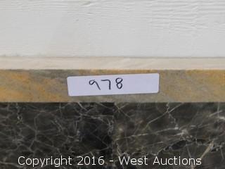 (1) 2' x 3' Granite Mosaic Inlay