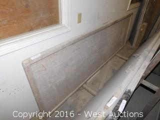 "(1) 112"" X 36"" Pre-Fabricated Countertop"