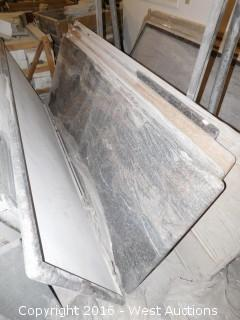 "(1) 98"" x 36"" Pre-Fabricated Countertop"