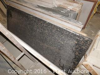 "(1) 100"" x 36"" Pre-Fabricated Countertop"