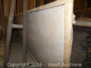"(1) 110"" x 36"" Pre-Fabricated Countertop"