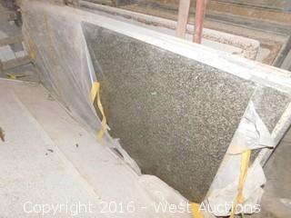 "(1) 90"" X 36"" Pre-Fabricated Granite Countertop"