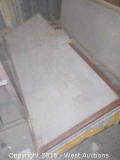 "(1) 96"" X 36"" Pre-Fabricated Granite Countertop"