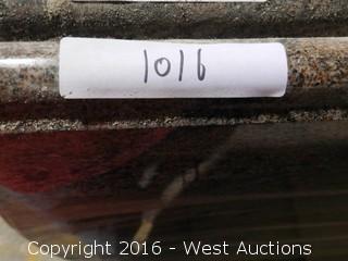 "(1) 6' x 40"" Pre-Fabricated Granite Countertop"