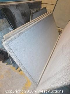 "(1) 76"" x 3' Pre-Fabricated Granite Countertop"