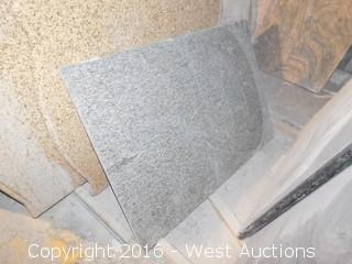 "(1) 52"" X 3' Pre-Fabricated Granite Countertop"