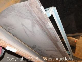 "(1) 76"" X 3' Pre-Fabricated Granite Countertop"