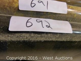 "(1) 50.5""x22"" Granite Vanity Sink Countertop"