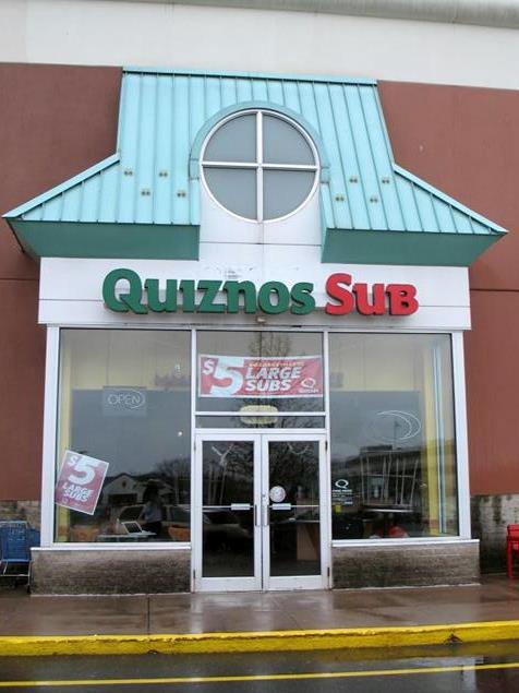 Quiznos Sandwich Shop in West Hartford, Connecticut