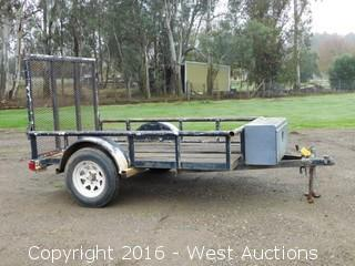 5'x8' Spencer Utility Trailer