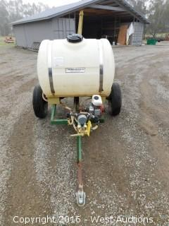 Trailer Mounted Snyder Agri-Tank
