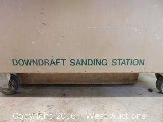 Sand Pro Downdraft Sanding Station