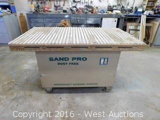 Sand Pro Downdraft Sanding Station
