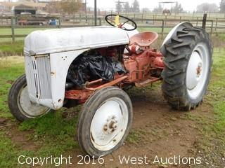 1949 Ford Yard Tractor