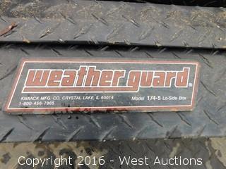 "(1) 56""x16"" Weatherguard Toolbox"
