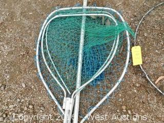 Crabbing Supplies; Crab Net and Hand Net
