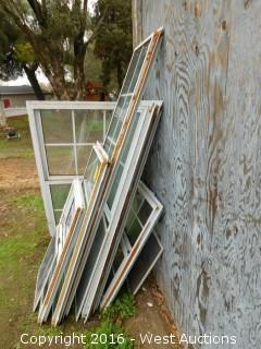 (6) Double Paned Windows