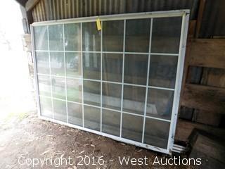 7'x5' Aluminum Double Paned Window
