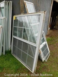 5'x4' Aluminum Double Paned Window
