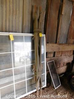 7' Canvas/Wood Cot
