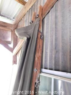 7' Canvas/Wood Cot