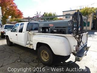 1991 Chevrolet Cheyenne with Lincoln Electric Arc Welder