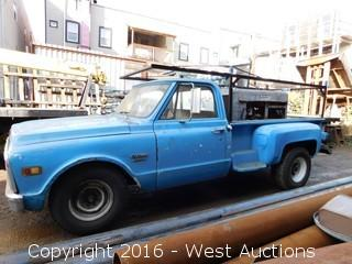 1969 Chevrolet Pickup Truck with Lincoln Electric Welder