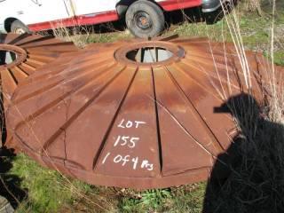 Set (4 Pieces) Steel Spray Wheels<br /><br />