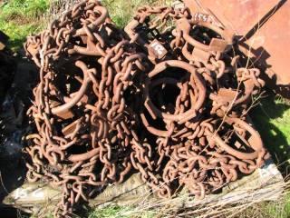 1 Pallet - Set of Logging/Skidder Tire Chains