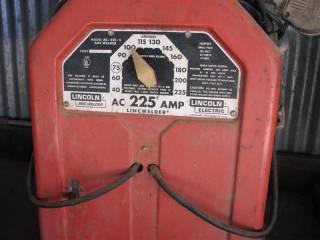 Lincoln Arc 225 AMP Welder