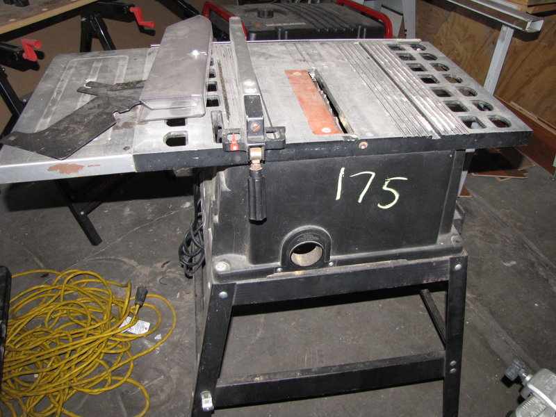 West Auctions Auction Calfia Builders Auction In San Jose Ca Item Skilsaw Table Saw