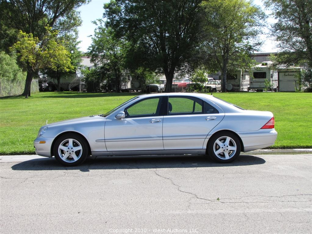west auctions auction 2005 mercedes benz s430 sedan