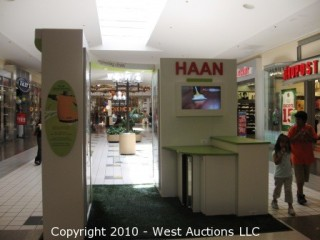 West Auctions Mall Kiosks Retail Goods And Office Furniture