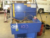 Zep Super Brute Industrial Parts Washing System