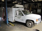 1993 Chevy C3500 Utility Truck with EAGLE Lift Gate & Compressor