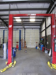 Ammco Hydraulic Automotive Lift