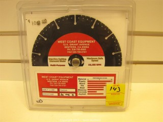 Multiquip Wet Dry Diamond Blade - 7""