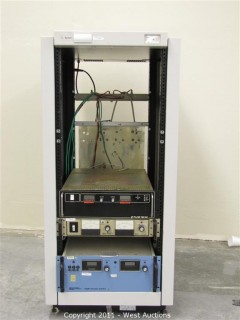 Agilent Power Supply Rack with Power Units