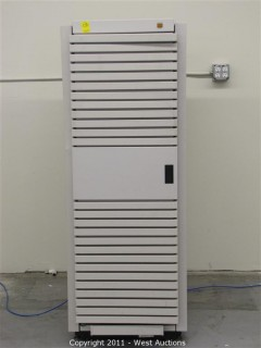 Server/Power Supply Cabinet with Wavecrest Communication Signal Analyzer