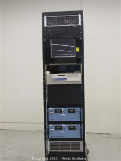 Power Supply Rack with TCR Power Supplies and Monitor