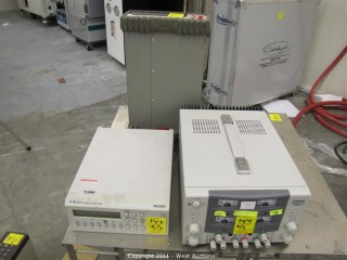 (2) Multimeters - HP 34401A and Phillips PM 2534 and Topward 6306A Power Supply
